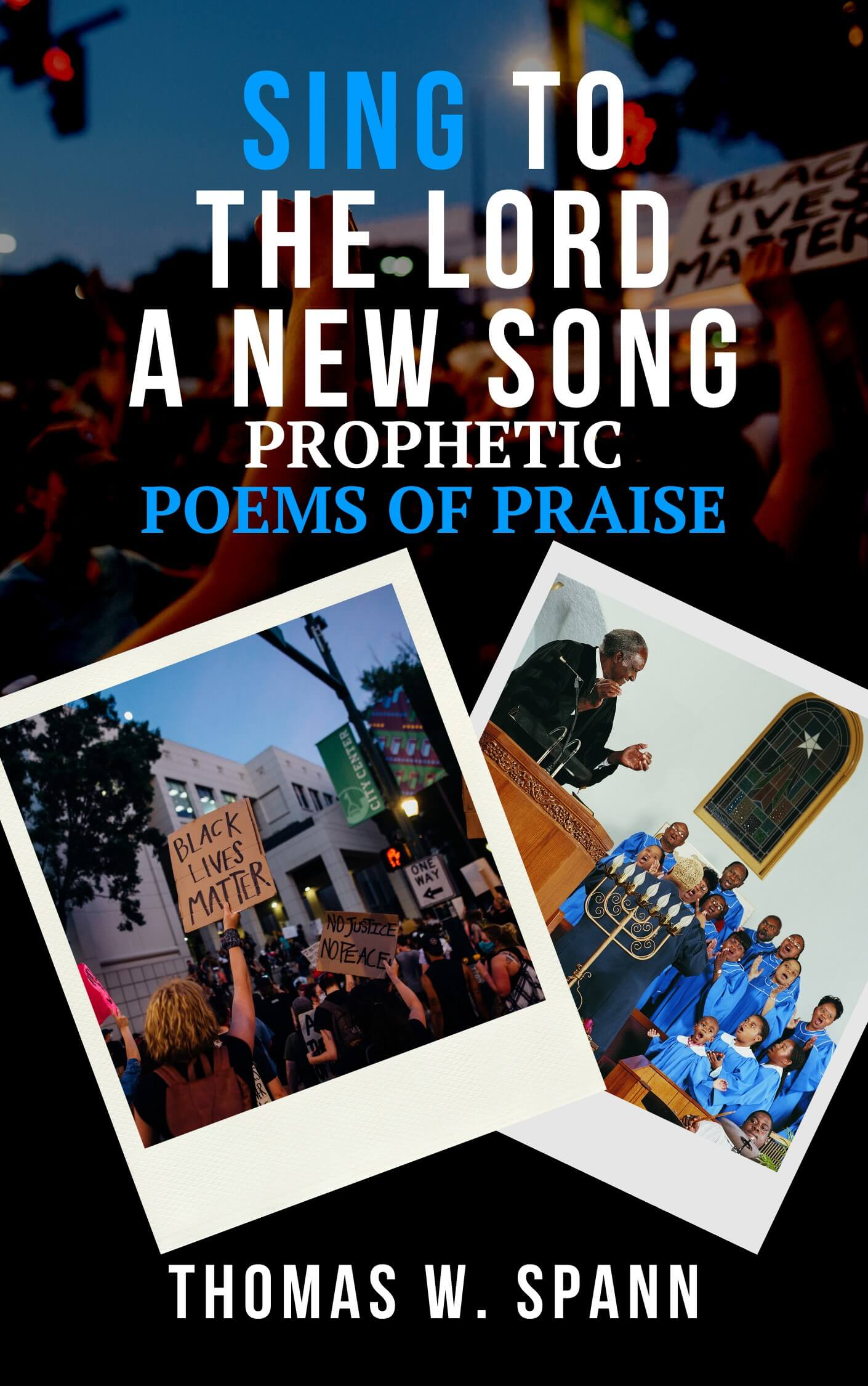 SING TO THE LORD A NEW SONG - Front Cover